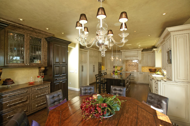 Dinette Tables Kitchen Traditional with Accent Ceiling Breakfast Bar