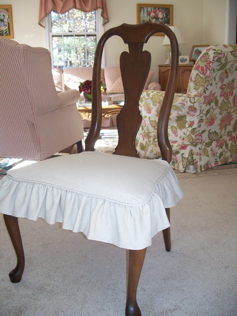 Dining Room Chair Slipcovers Spaces with Slipcovers