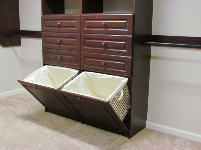 Dirty Clothes Hamper Closet Traditional with Atlanta Custom Closets Closet