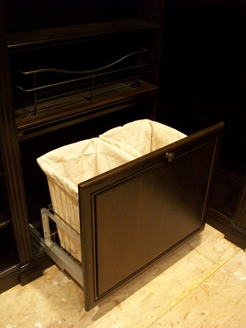 Dirty Clothes Hamper Closet Traditional with Categoryclosetstyletraditionallocationorange County