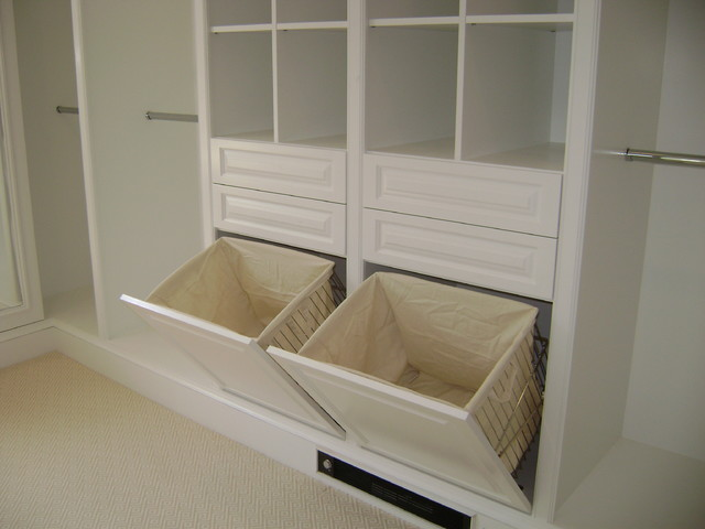 Dirty Clothes Hamper Closet Traditional with Closet Hamper Master Closet