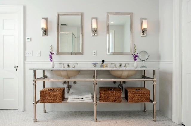 Dominion Electric Supply Bathroom Traditional with Bathroom Lighting Bathroom Mirror