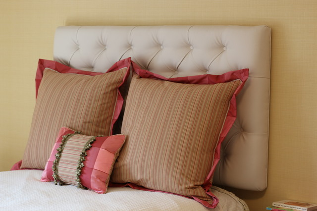 Down Feather Pillows Bedroom Traditional with Bedding Buffalo Check Covered
