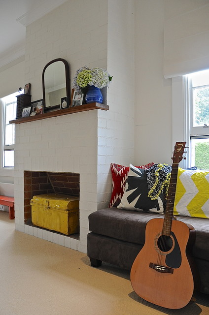 Down Pillow Inserts Spaces Eclectic with My Houzz