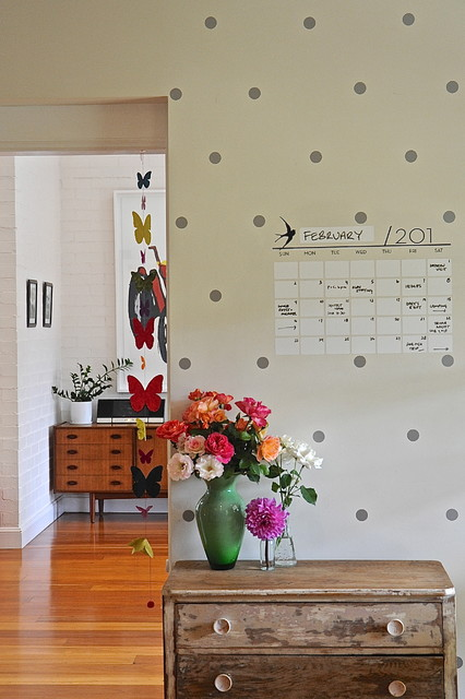Dry Erase Easel Hall Eclectic with My Houzz