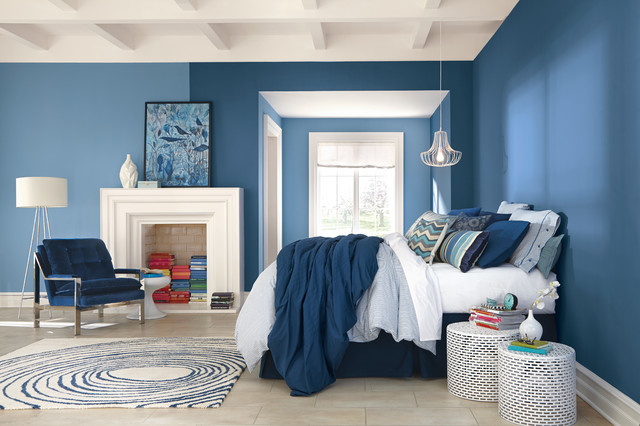 Dunn Edwards Paint Bedroom Contemporarywith Categorybedroomstylecontemporary