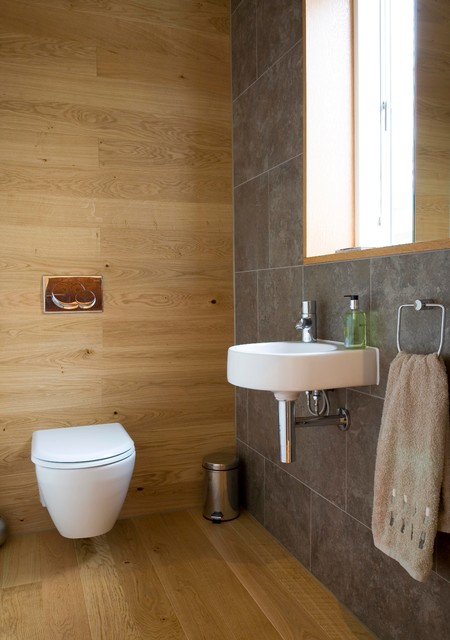 Duravit Toilet Powder Room Contemporary with Cloakroom Contemporary Architecture Downstairs