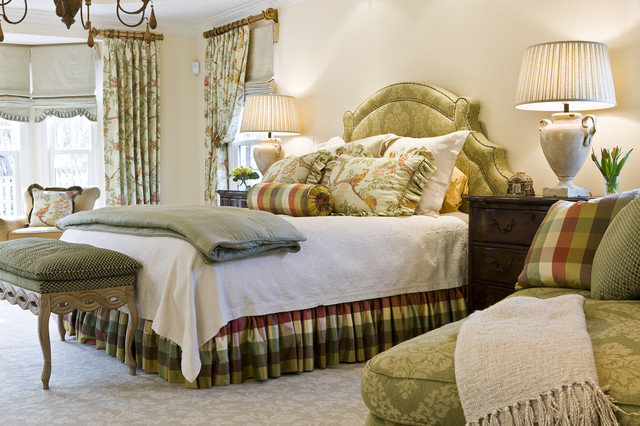 Dust Ruffles Bedroom Traditional with Arm Chair Bedskirt Bench
