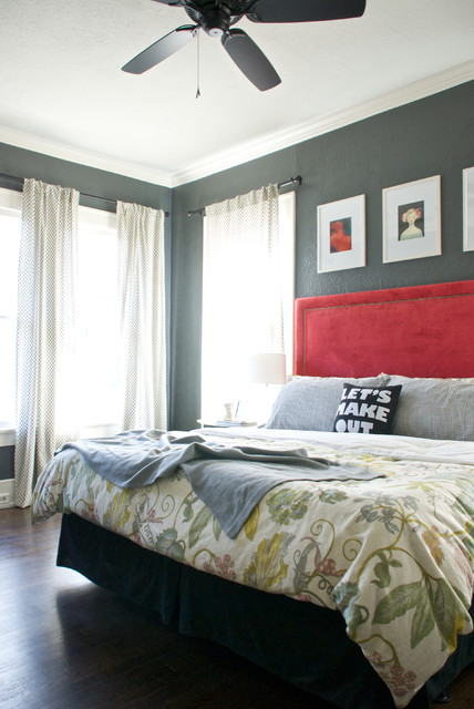 Duvet Covers Target Bedroom Transitional with Black Ceiling Fan Bungalow