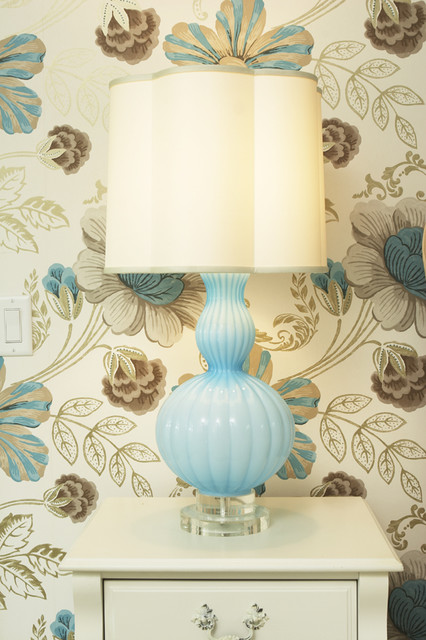 e12 bulb Bedroom Transitional with Bedroom blue blue lamp