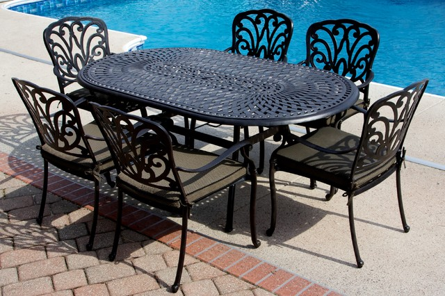Eastgate Pools Spaces with Patio Furniture