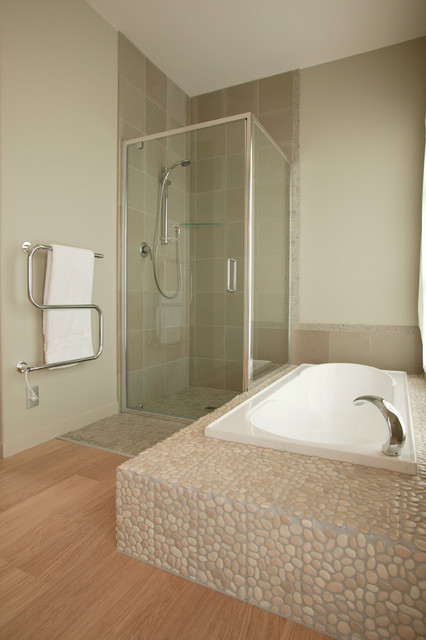 Eleganza Tile Bathroom Beach with Bathroom Floor Tiles Pebble