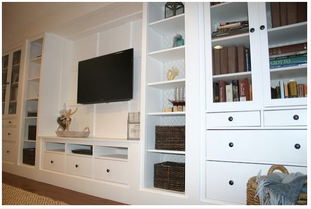 Entertainment Centers Ikea Basement Traditional with Basement Built in