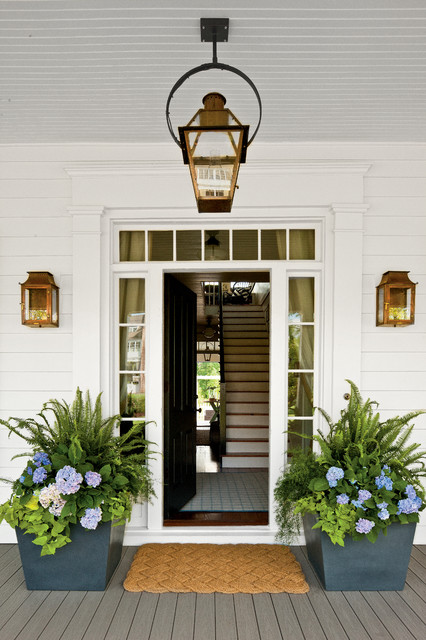 Entry Door with Sidelights Entry Farmhouse with Black Door Black Front