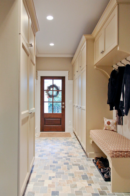 Entryway Bench with Shoe Storage Entry Traditional with Beige Bench Beige Cabinets