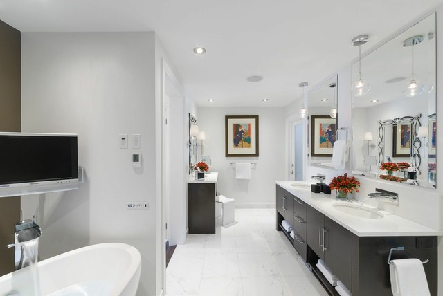 Eureka Lighting Bathroom Contemporary with Bain Ultra Bain Ultra