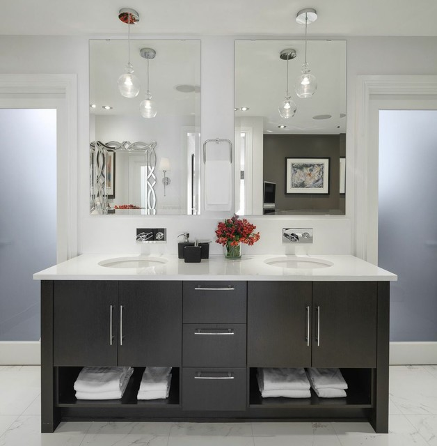 Eureka Lighting Bathroom Contemporary with Bain Ultra Bathroom Design