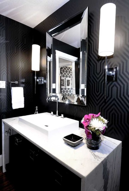Eureka Lighting Bathroom Contemporary with Bathroom Lighting Beveled Mirror