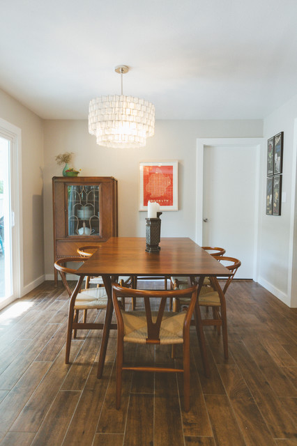 Expandable Dining Table Dining Room Eclectic with Categorydining Roomstyleeclecticlocationaustin