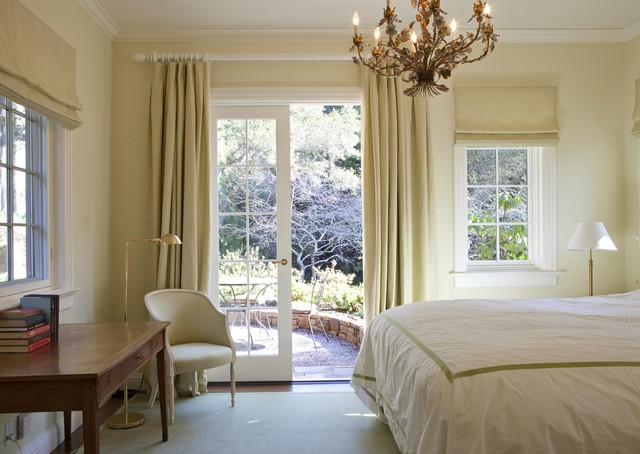 Extra Long Curtain Rods Bedroom Traditional with Bedroom Desk Chandelier Crown