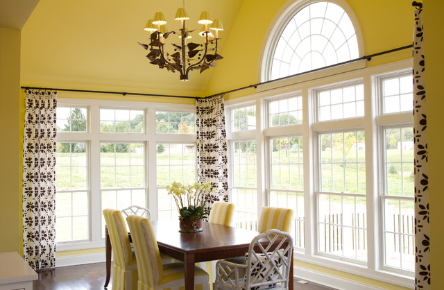 Extra Long Curtain Rods Dining Room Traditional with Crown Molding Dining Chairs