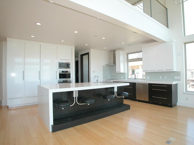 extra tall bar stools Kitchen Contemporary with black counter stools custom