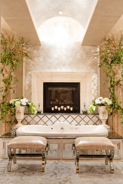 Fake Flower Arrangements Bathroom Traditional with Arched Ceiling Barrel Ceiling