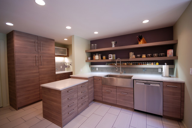 Farm Sink Ikea Kitchen Contemporary with Accent Wall Bar Glass