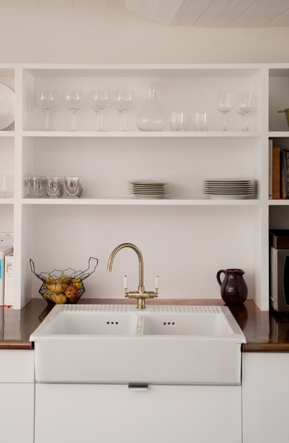 farmhouse sink ikea Kitchen Contemporary with belfast sink copper copper