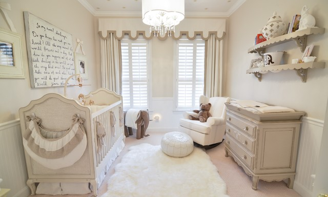 Faux Fur Rug Nursery Transitional with Baby Nursery Brown And