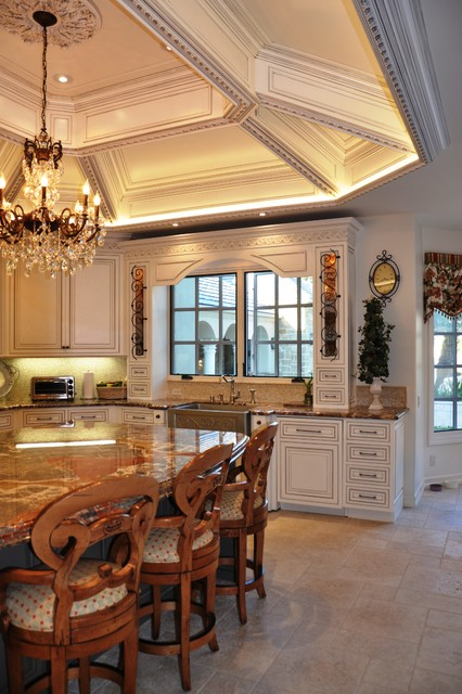 Faux Tin Ceiling Tiles Kitchen Traditional with Apron Sink Ceiling Lighting