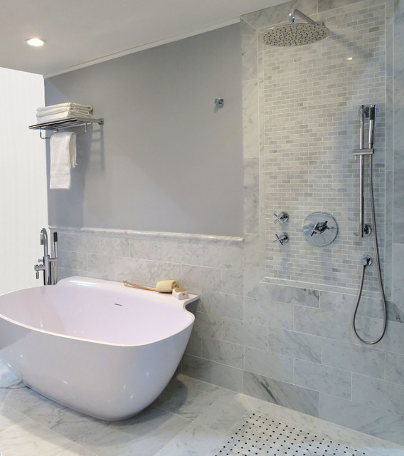 Feeney Cable Rail Bathroom Modern with Categorybathroomstylemodernlocationother Metro