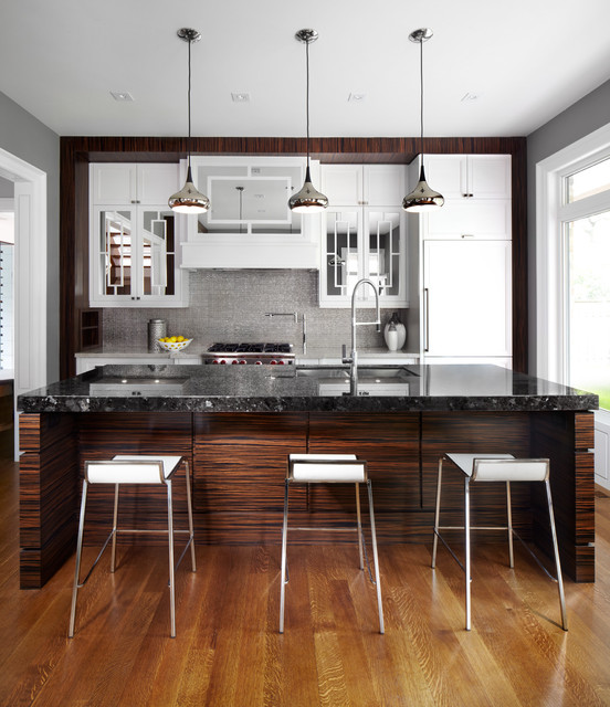 Feiss Lighting Kitchen Contemporary with Counter Stools Dark Wood