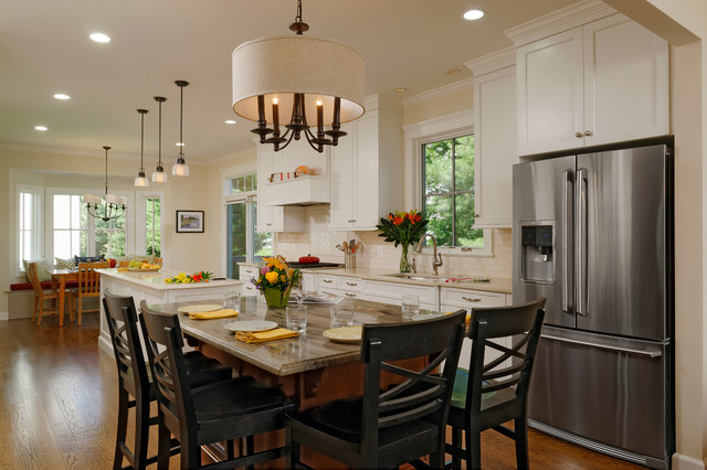 Feiss Lighting Kitchen Traditional with 3 Pendant Lights Brookhaven