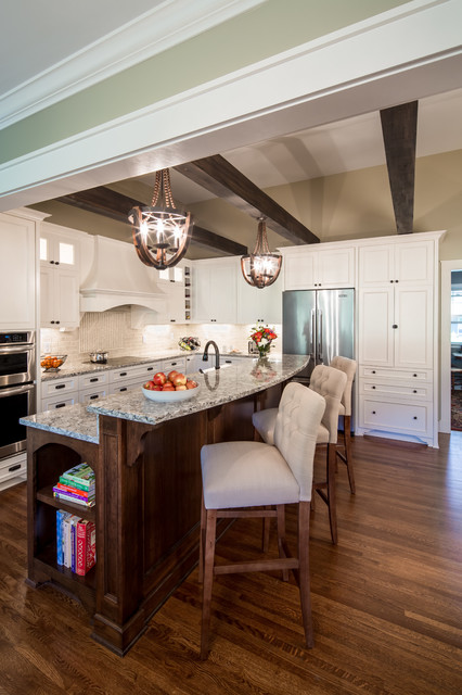 Feiss Lighting Kitchen Transitional with Beige Walls Custom Hood