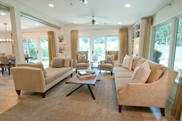 Feizy Rugs Family Room Contemporary with Carved Area Rug Chairs