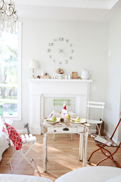 Fireplace Mantel Ideas Living Room Shabby Chic with Distressed Furniture Fireplace Mantel