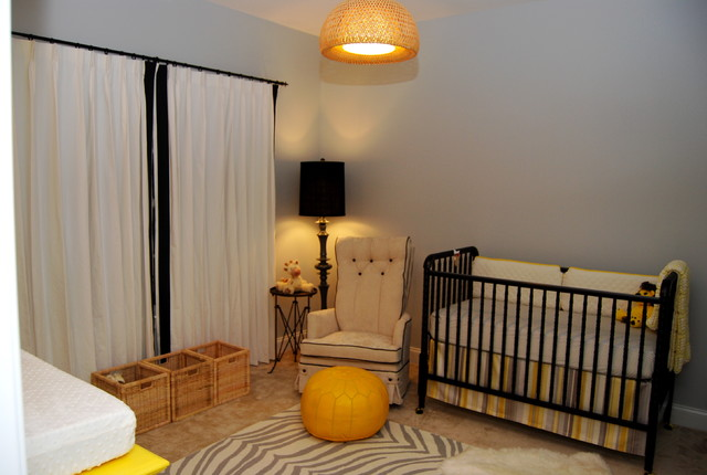 Fitted Crib Sheets Nursery Traditional with Area Rug Baseboards Black