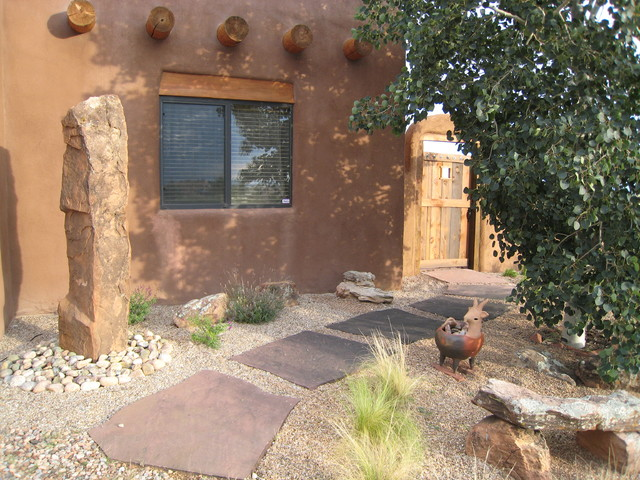 Flagstone Walkway Landscape Southwestern with Colorado Flagstone Stepping Stones