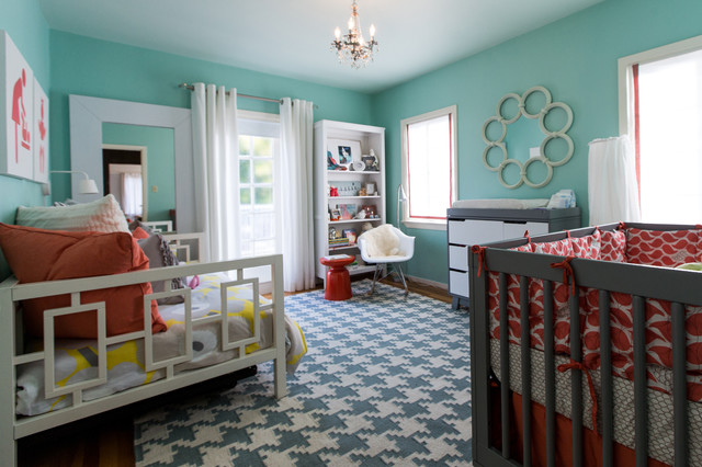 Flat Weave Rugs Kids Modern with Bedroom Chandelier Coral And