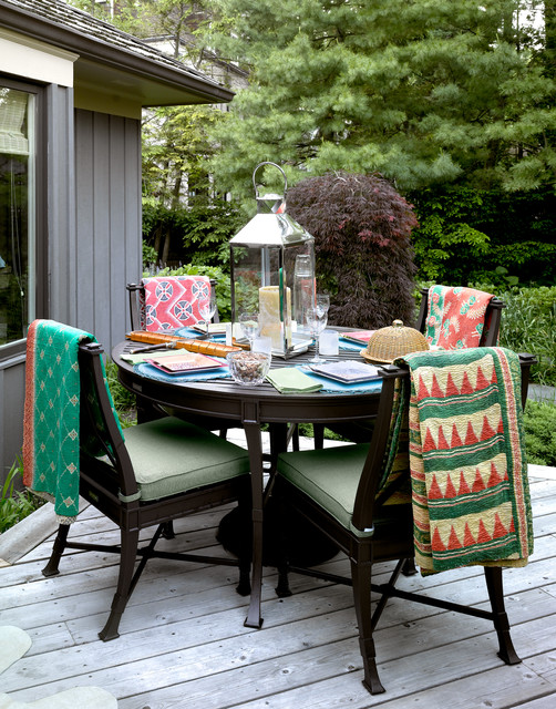 Fleece Throw Blankets Deck Traditional with Deck Lantern Outdoor Outdoor