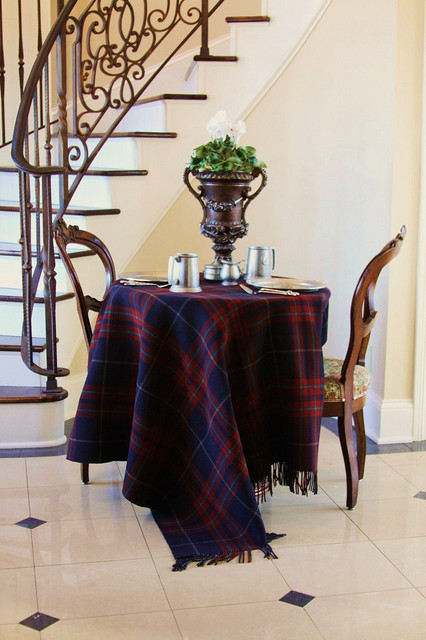 fleece throw blankets Hall Traditional with entry iron railing marble