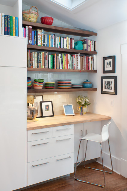 Floating Desk Ikea Kitchen Contemporary with Banquette Seating Barn Light