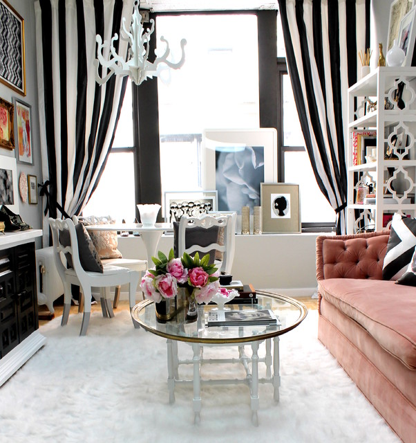 Flokati Rug Ikea Living Room Eclectic with Art Black and White1