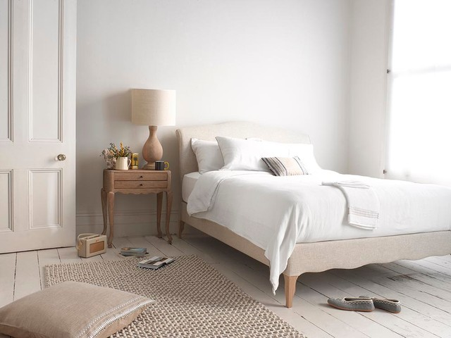 Fluffy Rugs Bedroom with Bed Bedroom French Upholstered