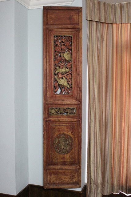 Folding Screen Room Divider Dining Room Asian with Ancient Architectural Asia Asian
