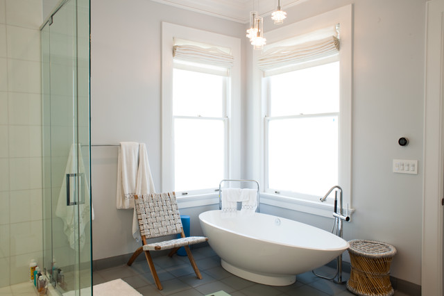 freestanding bathtubs Bathroom Contemporary with bathroom bathroom chair freestanding