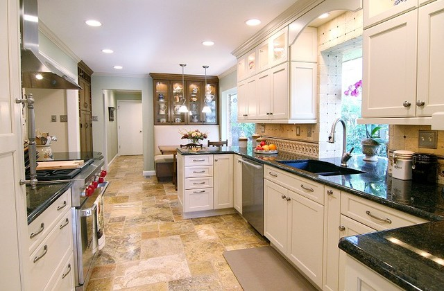 Freestanding Dishwasher Kitchen Contemporary with After Best Hood Brookhaven