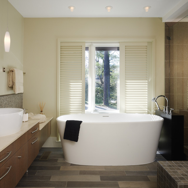 Freestanding Tubs Bathroom Contemporary with Bath Bowl Sink Elegant