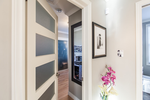 Frosted Glass Doors Closet Contemporary with Categoryclosetstylecontemporarylocationother Metro